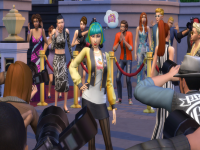 Sims camp: First reaction to the sims 4 get famous