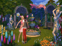 The sims 4 romantic garden stuff
