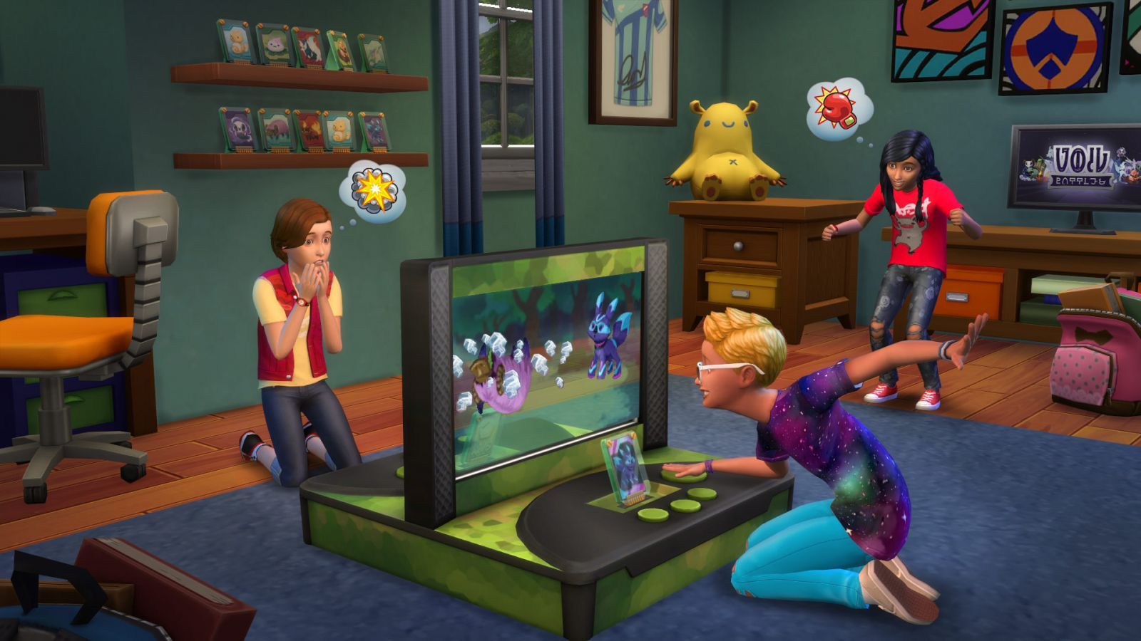 Sims 4 Cheats - The sims 4 kids rooms stuff