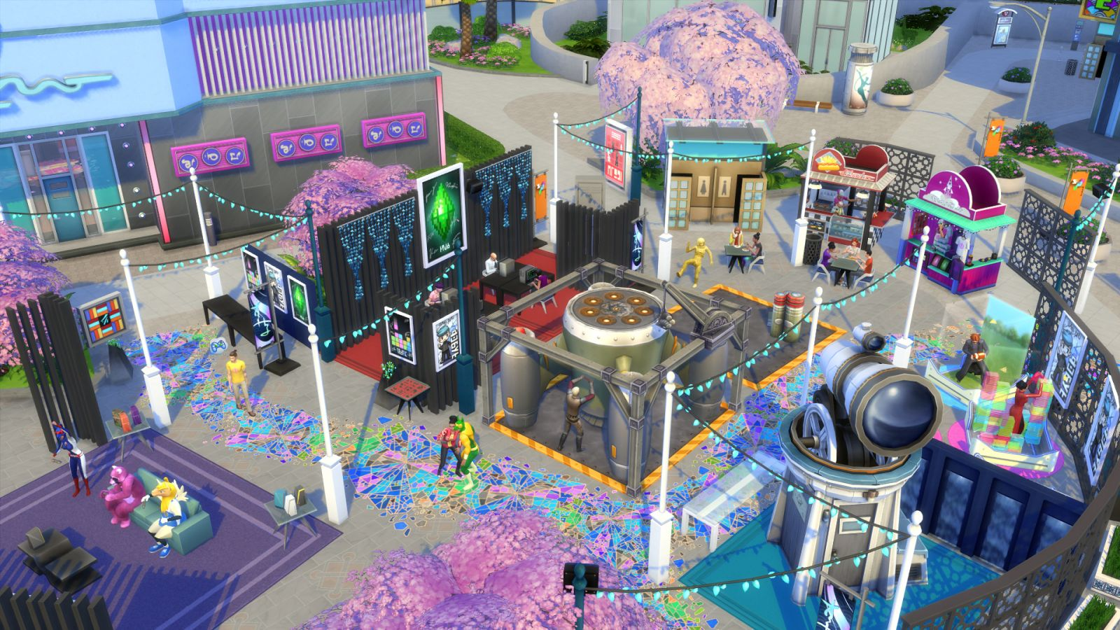 Sims 4 Cheats - The sims 4 city living: lauch