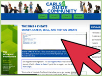 how to turn on cheats in sims 4