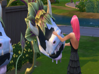 How to Get a Cowplant Sims 4  Cheats