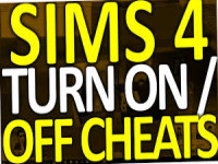 Turning Cheats On and Off in The Sims 4