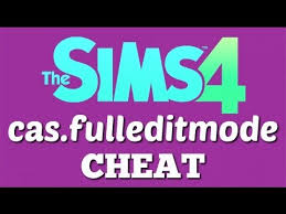 sims 4 cheats cas